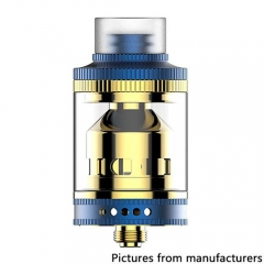 Authentic Wake Mod CO Wake 24mm RTA Rebuildable Tank Atomizer 3.3ml - Blue