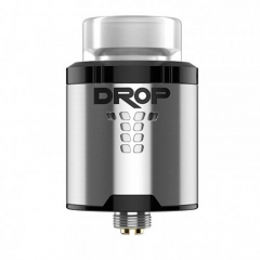 Authentic Digiflavor Drop 24mm RDA Rebuildable Dripping Atomizer - Silver