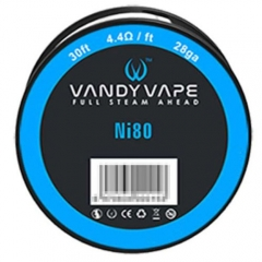 Authentic Vandy Vape Ni80 28 AWG Heating Wires