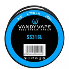 Authentic Vandy Vape 316L Stainless Steel 28AWG Heating Wires