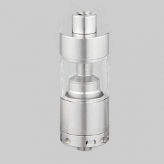 Silverplay V2 Style 22mm RTA Rebuildable Tank Atomizer 4.5ml - Silver