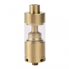 Silverplay V2 Style 22mm RTA Rebuildable Tank Atomizer 4.5ml - Gold
