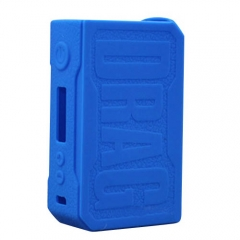 Protective Silicone Sleeve Case for VOOPOO DRAG 157W Mod - Blue