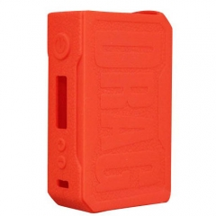 Protective Silicone Sleeve Case for VOOPOO DRAG 157W Mod - Red