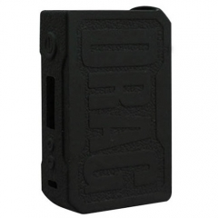 Protective Silicone Sleeve Case for VOOPOO DRAG 157W Mod - Black