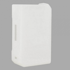 Protective Silicone Sleeve Case for VOOPOO DRAG 157W Mod - White