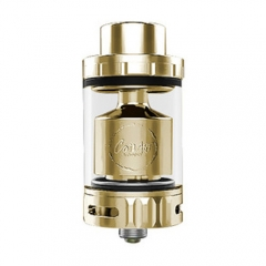 Authentic CoilArt AZEROTH 24mm RTA Rebuildable Tank Atomizer 4.5ml - Gold