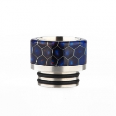 Replacement Resin Drip Tip for Snake Style TFV8 Atomizer (1 Set) - Random Multicolor