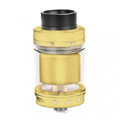 Authentic Tigertek Mermaid 24mm RTA Rebuildable Tank Atomizer 4.5ml - Gold