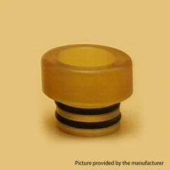 Replacement 510 Ultem Drip Tip for Narba RDTA - Yellow