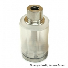 Coppervape Hussar RTA (Steam tuners Style) Long Tower Tank Set 316SS + PC - White