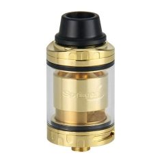Authentic Tigertek Springer S 24mm RTA Rebuildable Tank Atomizer 3.5ml - Gold