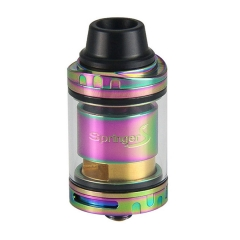 Authentic Tigertek Springer S 24mm RTA Rebuildable Tank Atomizer 3.5ml - Rainbow