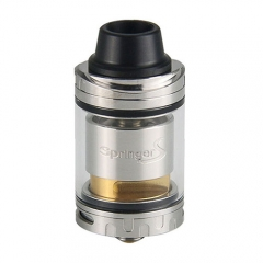 Authentic Tigertek Springer S 24mm RTA Rebuildable Tank Atomizer 3.5ml - Silver