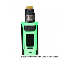 Authentic Wismec Reuleaux RX2 200W 18650/20070 TC VW Variable Wattage Mod + GNOME Tank 4ml Kit - Green
