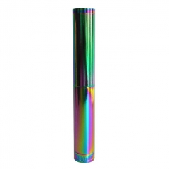 Style 18650 Stacked Mechanical Mod - Rainbow