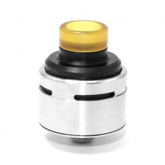 SXK SQUI Style 316SS 22mm RDA Rebuildable Dripping Atomizer - Silver