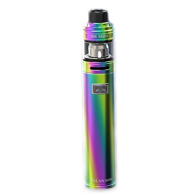 Authentic Teslacigs MACAN 90W 18650 E-Cigarette Starter Kit - Rainbow