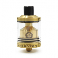 Switch Style 24mm RTA Rebuildable Tank Atomizer - Gold