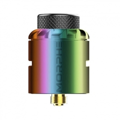 Authentic Tigertek Morphe 24mm RDA Rebuildable Dripping Atomizer w/ BF Pin - Rainbow