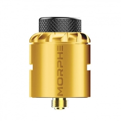 Authentic Tigertek Morphe 24mm RDA Rebuildable Dripping Atomizer w/ BF Pin - Gold