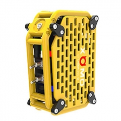 Authentic XOMO GT Laser 255X 150W 3500mAh Box Mod - Yellow