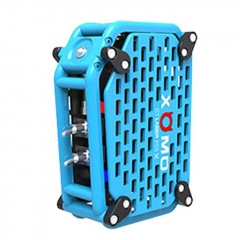 Authentic XOMO GT Laser 255X 150W 3500mAh Box Mod - Blue