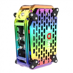 Authentic XOMO GT Laser 255X 150W 3500mAh Box Mod - Rainbow