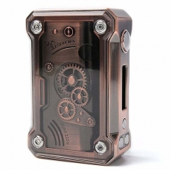 Authentic Teslacigs  Punk 220W Temperature Control APV Box Mod - Red Bronze