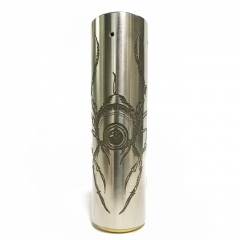 Rogue Style 18650 Mechanical Mod - Silver