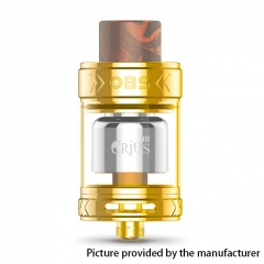 Authentic OBS Crius II 25mm RTA Rebuildable Tank Atomizer - Gold