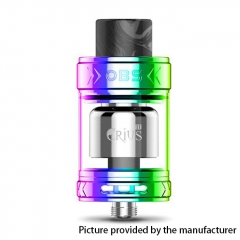 Authentic OBS Crius II 25mm RTA Rebuildable Tank Atomizer - Rainbow