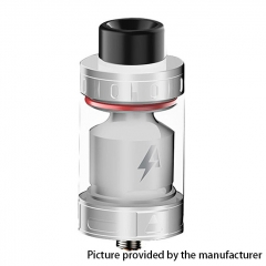 Authentic Blitz Intrepid 24.5mm RTA Rebuildable Tank Atomizer 3.5ml - Silver