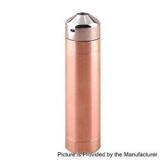 Little Cannon Styled 18650 Mechanical Mod Kit - Copper