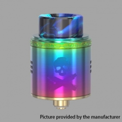 Authentic Vandy Vape Bonza 24mm RDA Rebuildable Dripping Atomizer w/ Bottom Feeding Pin - Rainbow