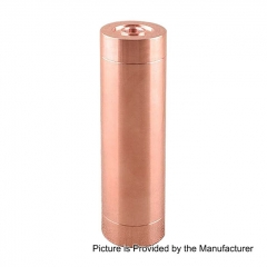 Little Cannon Styled 18650 Mechanical Mod - Copper