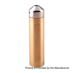Little Cannon Styled 18650 Mechanical Mod Kit - Brass