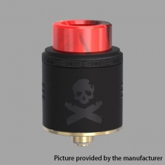 Authentic Vandy Vape Bonza 24mm RDA Rebuildable Dripping Atomizer w/ Bottom Feeding Pin - Black