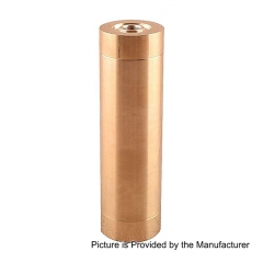 Little Cannon Styled 18650 Mechanical Mod - Brass