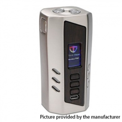Authentic ThinkVape Ranger 75C 75W TC VW APV Box Mod - Silver