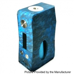 Authentic Aleader Box Killer 80W BF Squonker TC VW Variable Wattage Resin Mod w/7ml Bottle - Blue