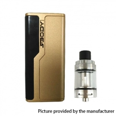 Authentic SBody Lancer 88W  18650 TC VW APV Mod w/2ml Atomizer Kit - Gold