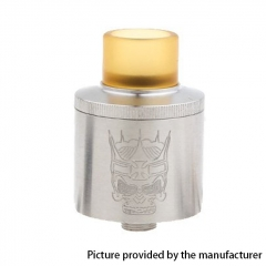 Zion Style 24mm RDA Rebuildable Dripping Atomizer - Silver