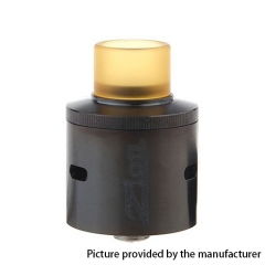 Zion Style 24mm RDA Rebuildable Dripping Atomizer - Black