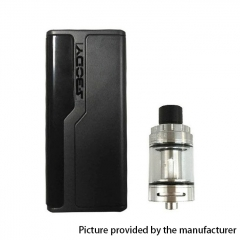 Authentic SBody Lancer 88W  18650 TC VW APV Mod w/2ml Atomizer Kit - Black