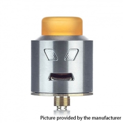 Authentic Smoant Battlestar 24mm RDA Rebuildable Dripping Atomizer - Silver