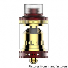 Wake 24mm Style RTA Rebuildable Tank Atomizer 3.3ml - Red