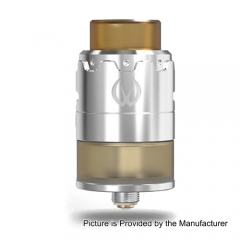 PYRO Style 24 RDTA Rebuildable Dripping Tank 4.5ml Atomizer - Silver