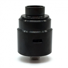 Ulton Entheon 316SS RDA Rebuildable Dripping Atomizer w/ BF Pin/ Caps- Black