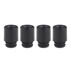 Authentic Clrane POM 510 Drip Tip (4-Pack)- Black